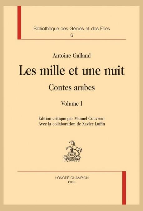Mille Et Une Nuit Pdf : mille, MILLE, GALLAND, ANTOINE