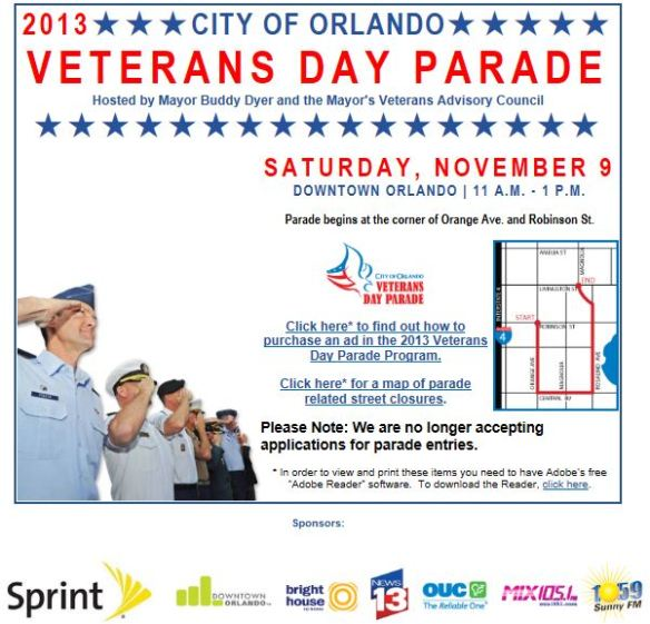 City-of-Orlando-Veterans-Parade-2013