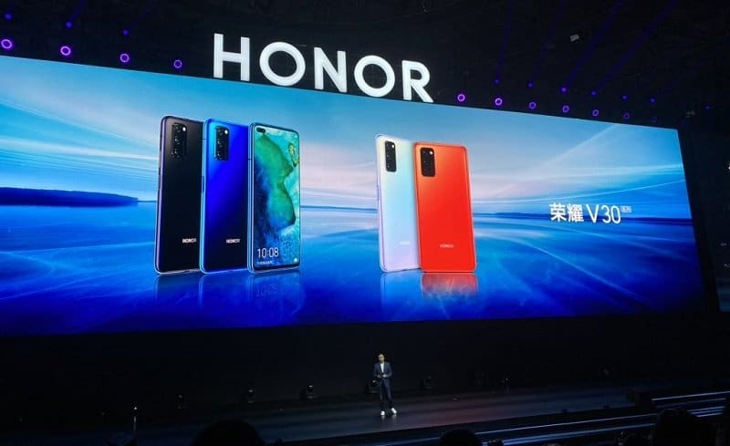 HONOR View30 Farben