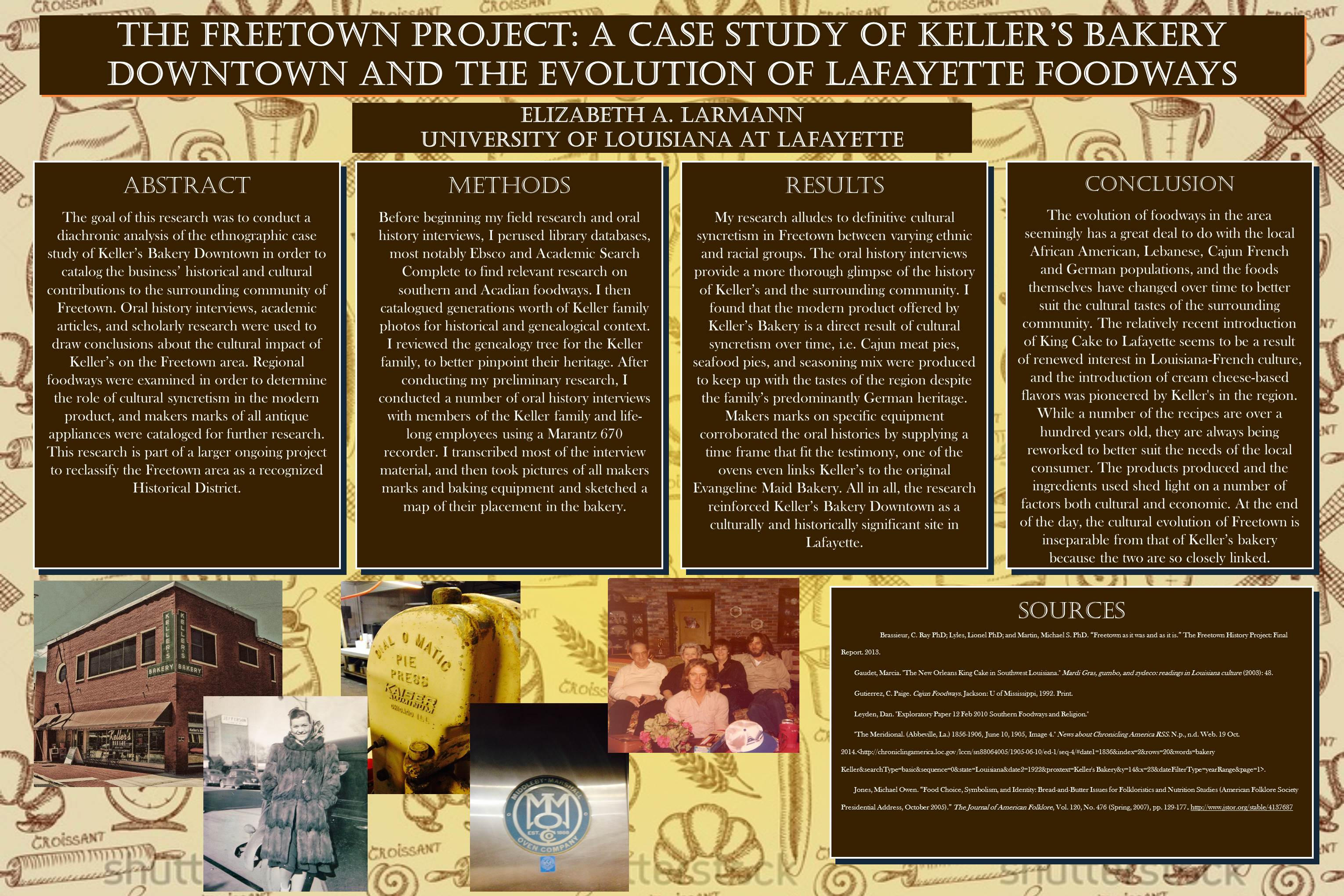 Senior Research Creative Poster Project University Honors Program