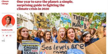 「地球を守れるかはこの1年で決まる」英国で最も信頼される新聞社『ガーディアン』が報道(日本語訳)‐気候危機30