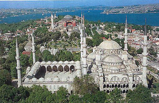 Mosquée bleue de Istanbul