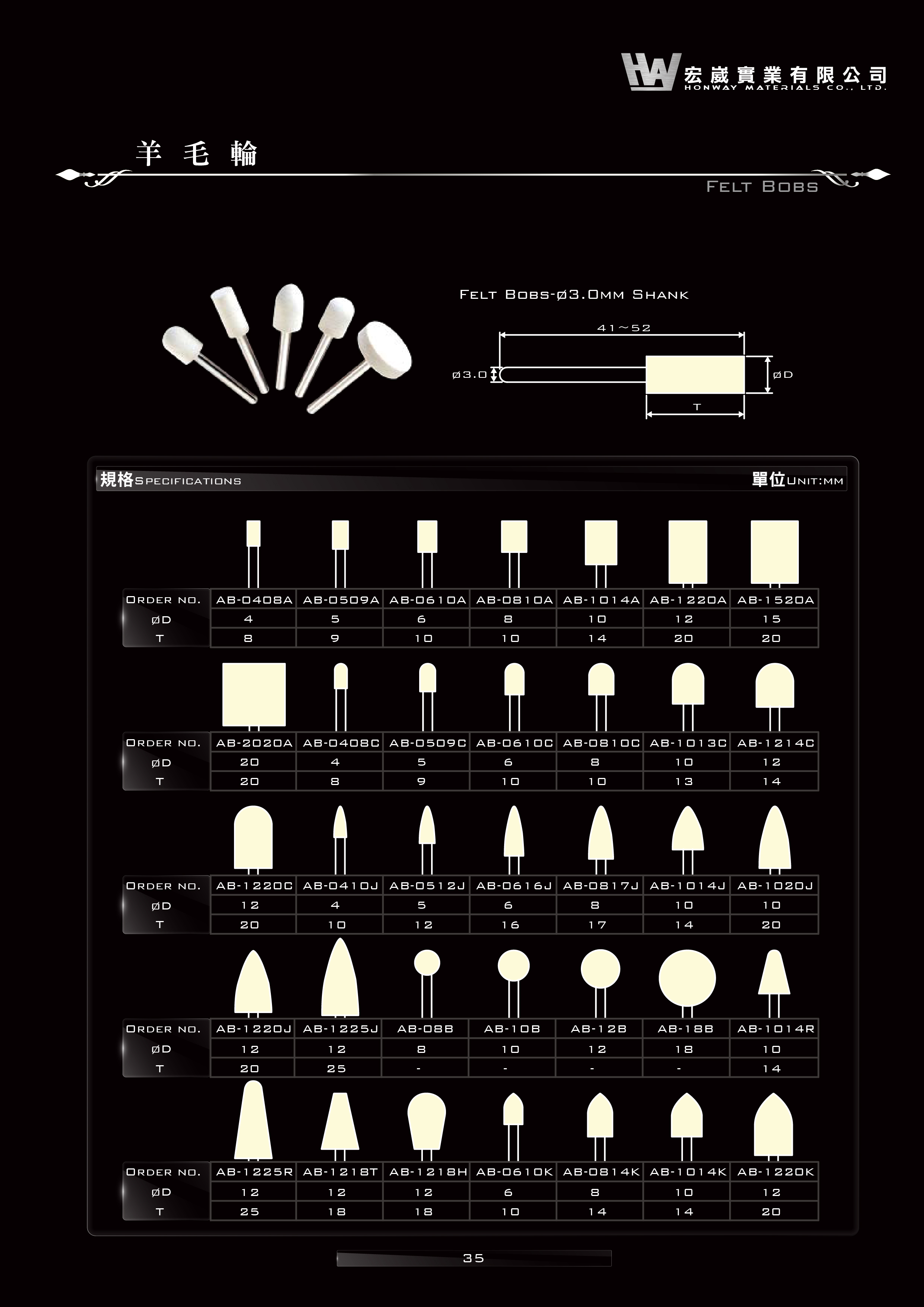 棕刷,木條,鑽石纖維油石,鑽石切片,鑽石雕刻針,陶瓷法,樹脂法,塘孔磨棒,穿孔磨棒,銼刀,鑽石油石,氮化硼磨棒,電鑄法,電鍍法,