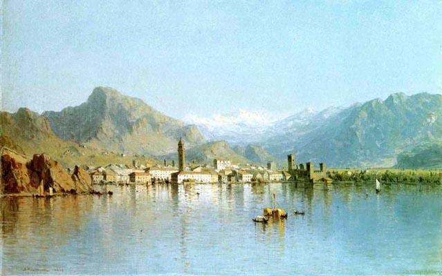 Lago di Garda, Italy: 1863
