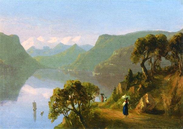 Lake Como: 1867