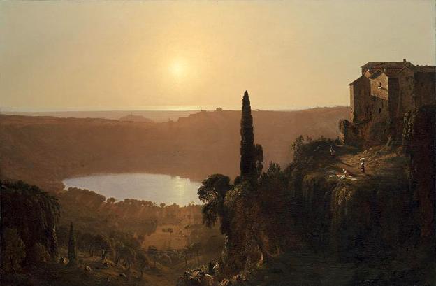Lake Nemi: 1856-57