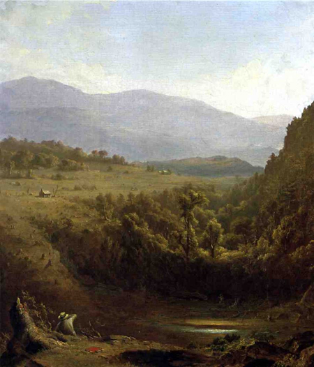 Scene in the Catskills: 1850