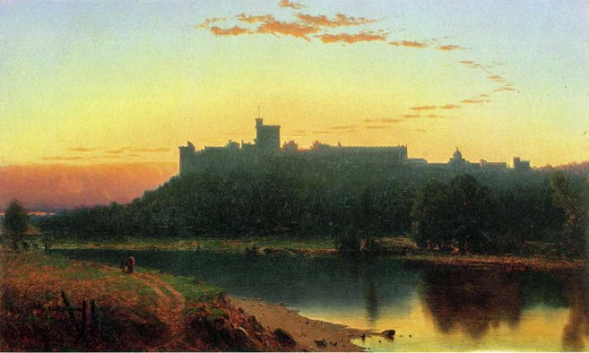 Windsor Castle: 1860