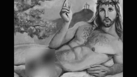 Censored sexy Jesus