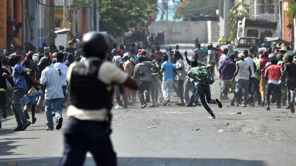 Protests in Haiti