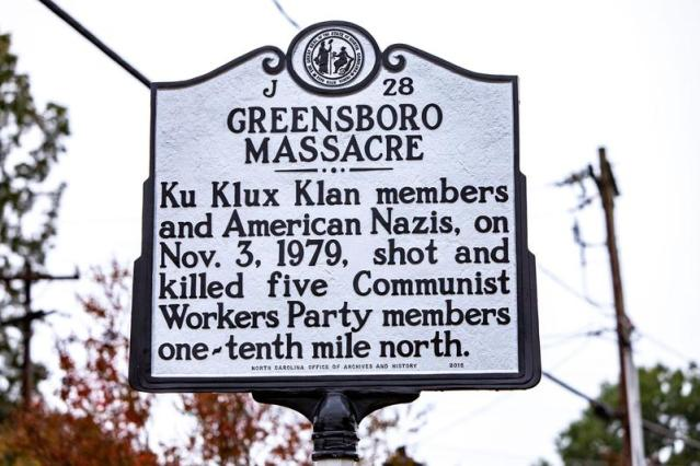 Memorial marks site of Greensboro Massacre