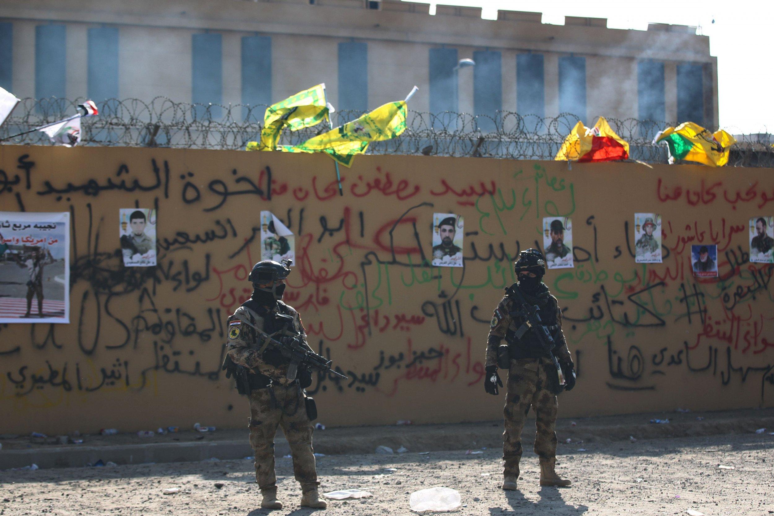 Iraq US Embassy Protests