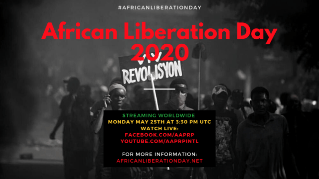 African Liberation Day 2020 - AAPRP - Save the Date(1)