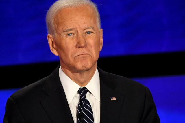 Joe Biden looking slightly sad, perhaps contemplating the passive revolution..