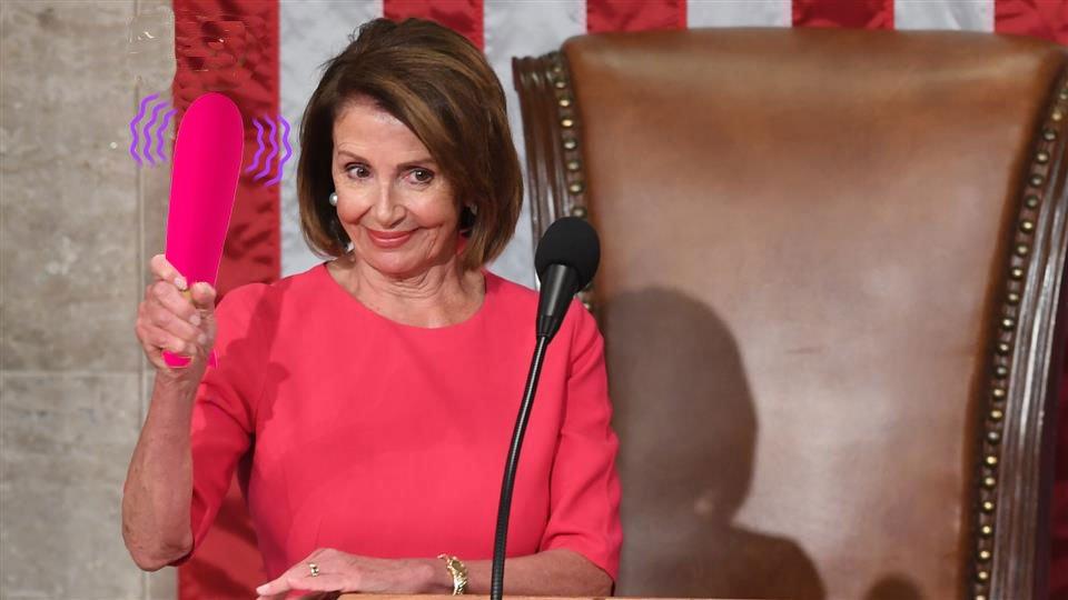 Nancy Pelosi can go fuck herself