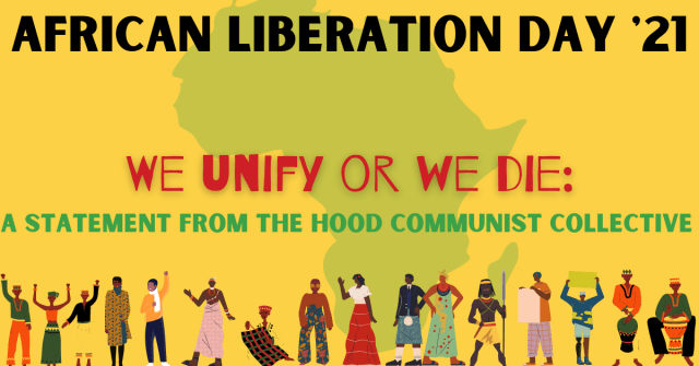 African Liberation Day: We Unify or We Die