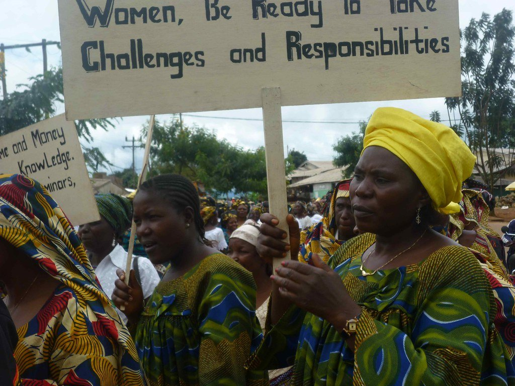 An African women's mobilization for Pan-African Women's Day