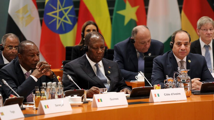 African heads of state at the African union