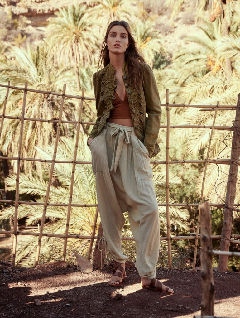 Luna Bijl for Free People Latest Campaign. Photographed by Andreas Ortner.