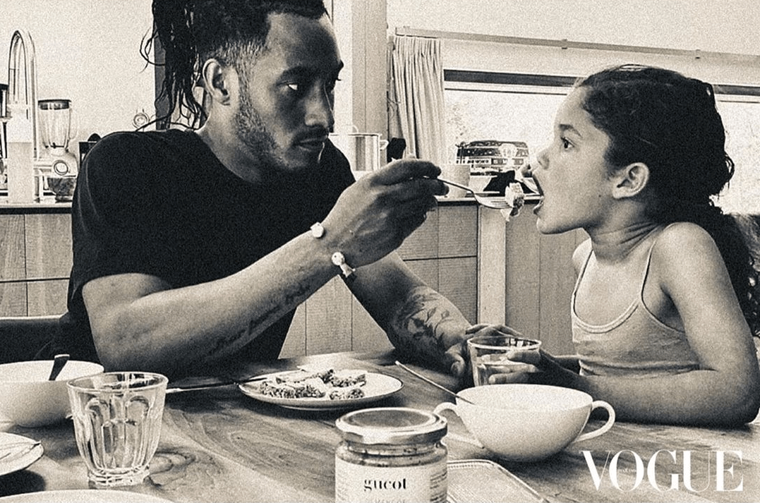 Doutzen Kroes and husband Sunnery James for Vogue Thailand August 2020 issue.
