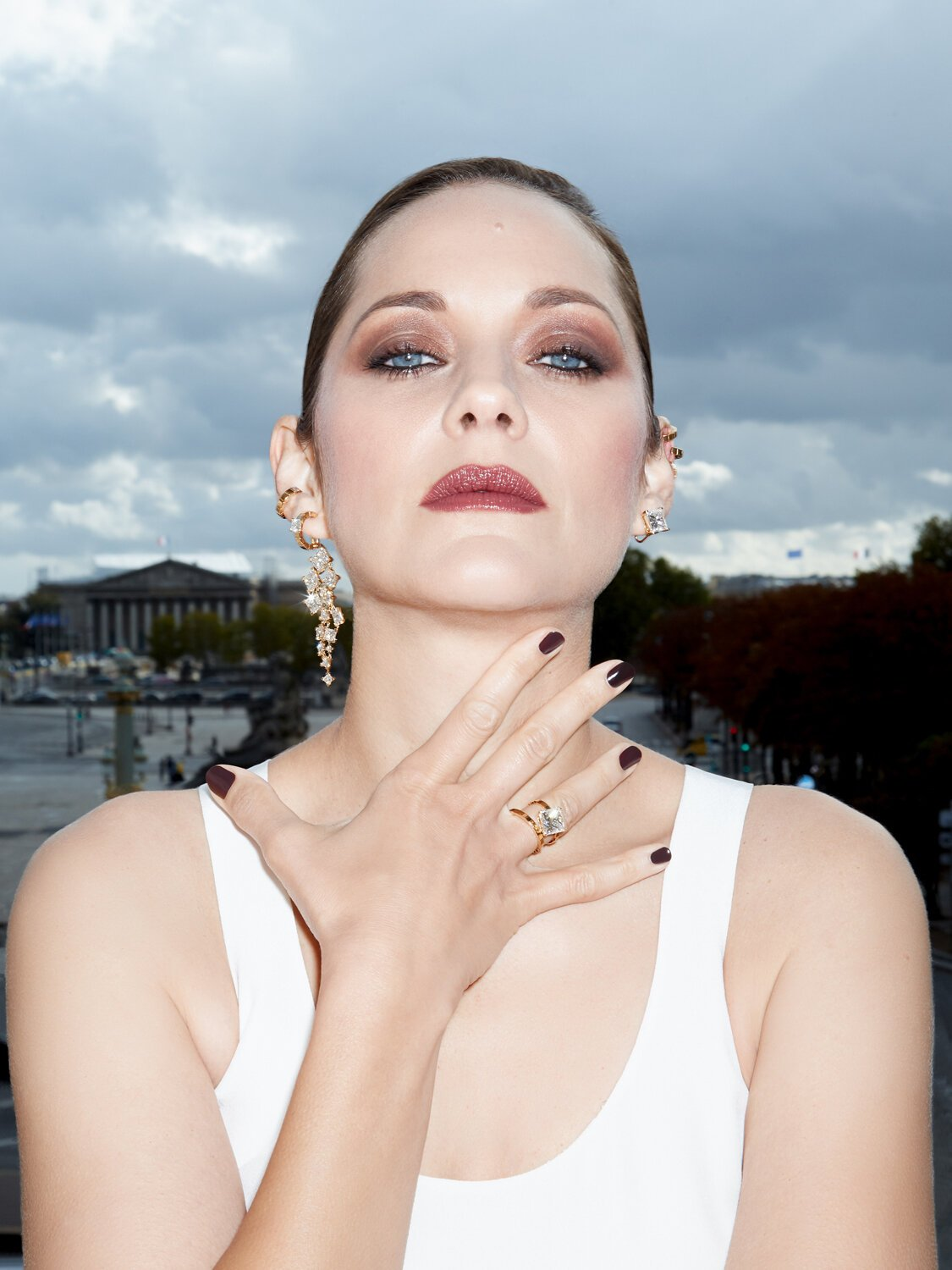 Marion Cotillard for Harper's Bazaar Russia November 2020. Photographed by Claire Rothstein.