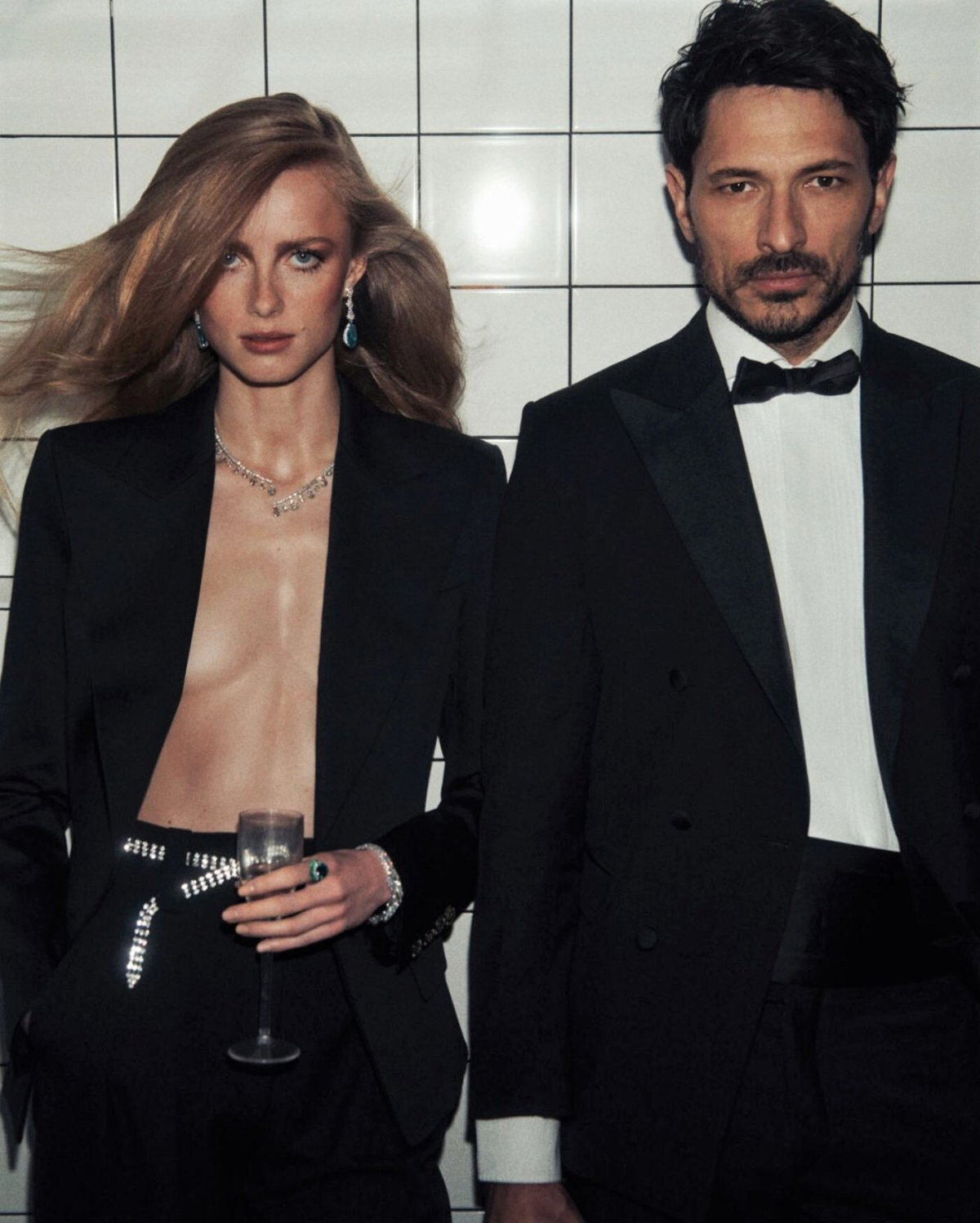 Rianne Van Rompaey and Andrés Velencoso Segura Vogue Paris June/July 2021 Issue. Photographed by Lachlan Bailey and styled by Emmanuelle Alt.
