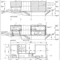 Architecture Section Diagram Cat6 Straight Through Wiring Reading Drawings And Comics The Hooded Utilitarian Barton Myers Wolf Residence