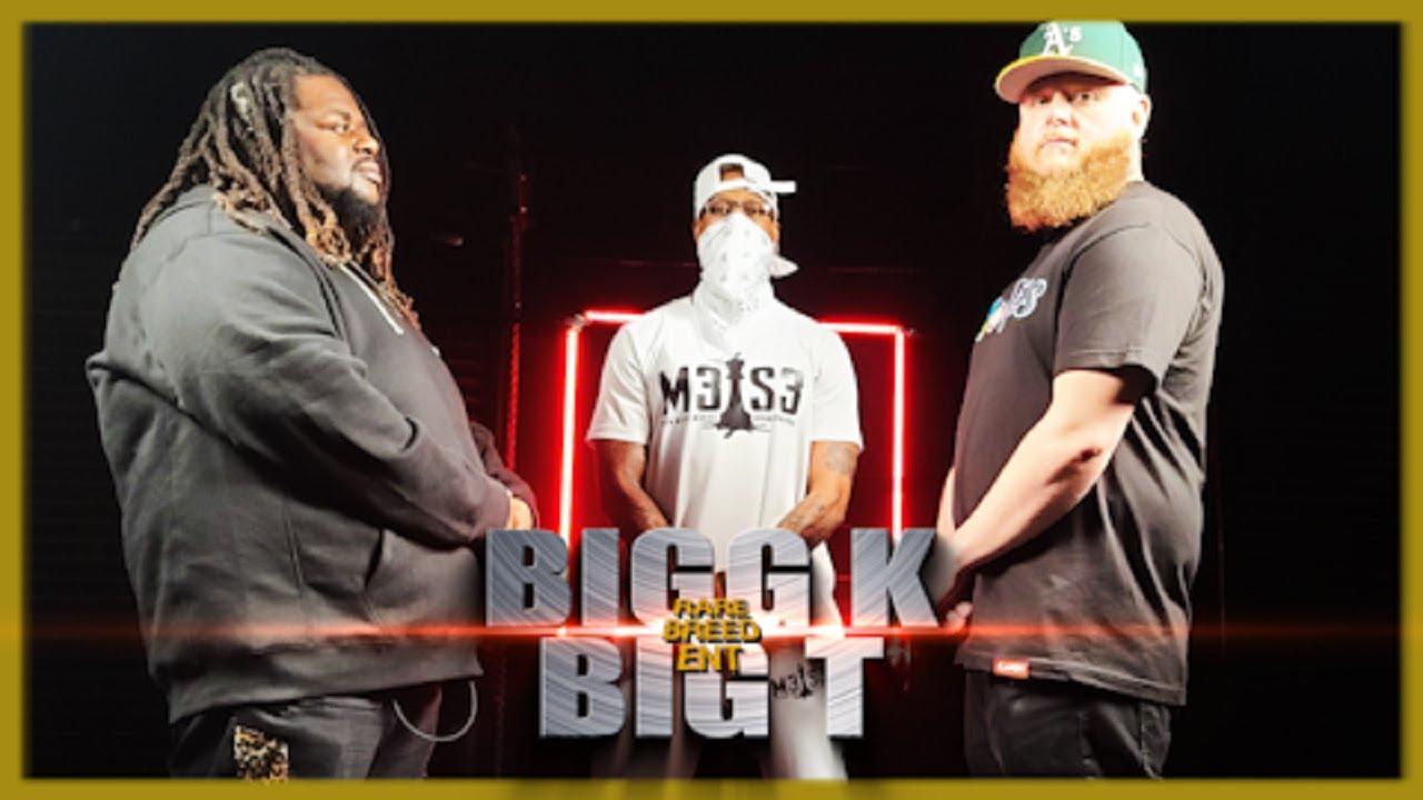 BIGG K VS BIG T RAP BATTLE - RBE