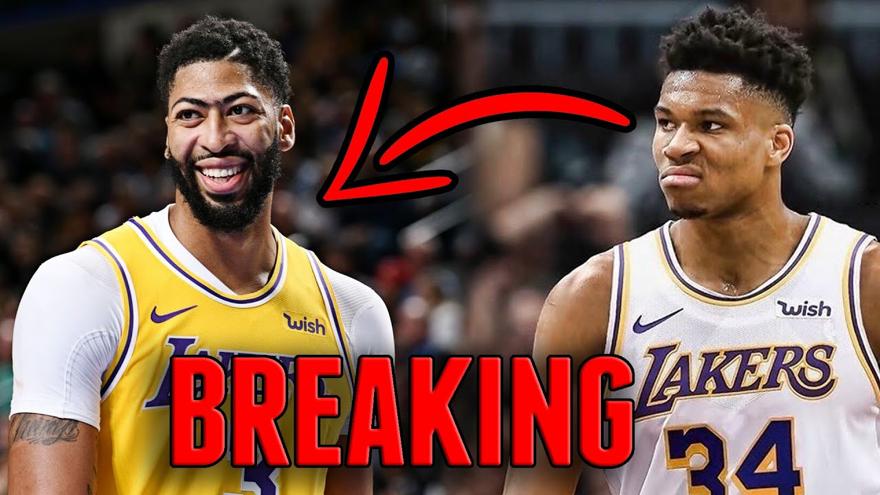 BREAKING: GIANNIS ANTETOKOUNMPO SIGNING WITH LA LAKERS NOT POSSIBLE AFTER NEW ANTHONY DAVIS CONTRACT