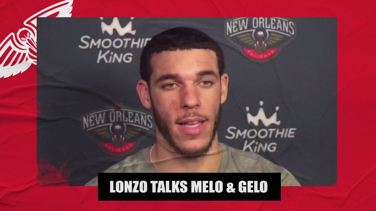 Lonzo Ball talks LaMelo and LiAngelo making it to the NBA, Pelicans' expectations | NBA on ESPN