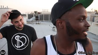 Brizz Rawsteen Vs Mike P In A CRAZY Face Off On The Roof   #TRAPCLASSIC