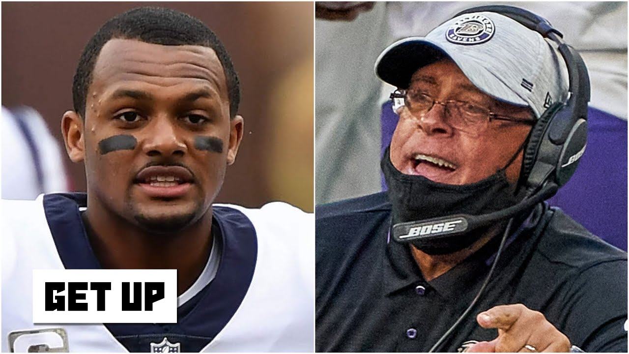 Texans coach David Culley can't convince Deshaun Watson to stay - Damien Woody   Get Up