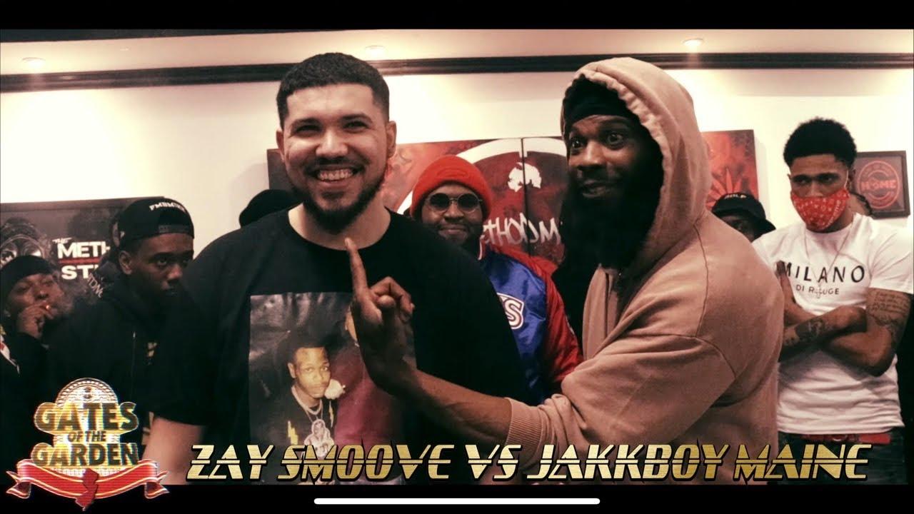 JAKKBOY MAINE VS ZAY SMOOVE | GATES OF THE GARDEN NY