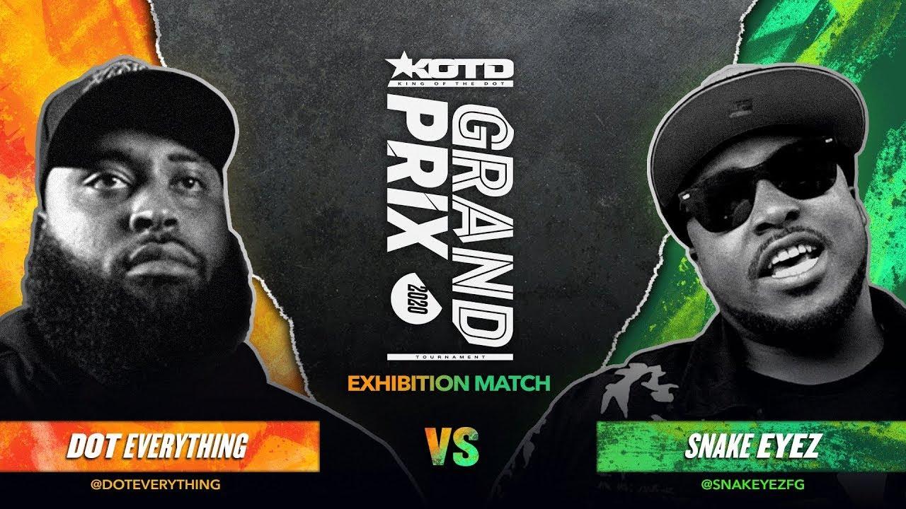 KOTD - Rap Battle - Dot Everything vs Snake Eyez | #GP2020