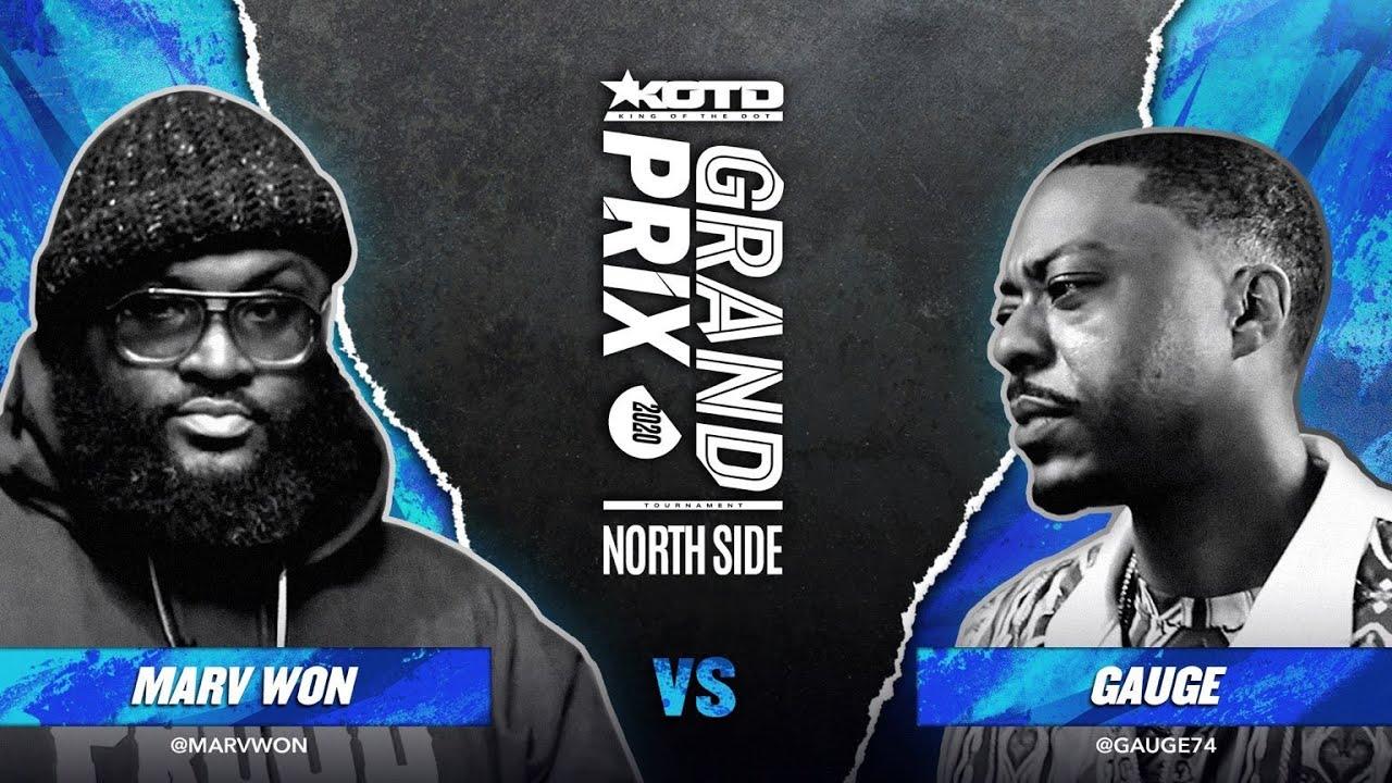 KOTD - Rap Battle - Marv Won vs Gauge | #GP2020