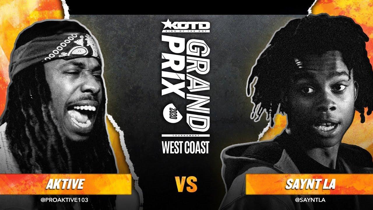 KOTD - Rap Battle - Saynt LA vs Aktive | #GP2020 R2