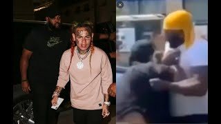 6ix9ine Security Charged with Felony Robbery after man Who Called 6ix9ine a SNITCH.. Snitched on him