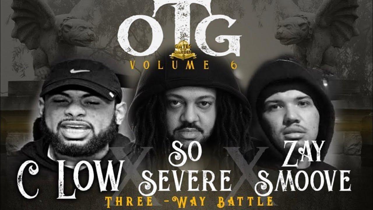 SO SEVERE VS C LOW VS ZAY SMOOVE | TRIPLE THREAT BATTLE | GATES OF THE GARDEN ATL