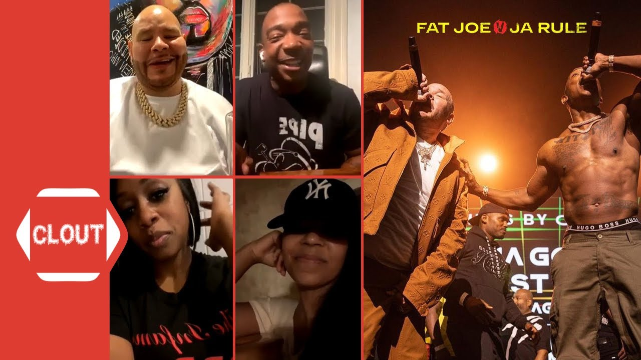 Fat Joe, Ja Rule, Remy Ma & Ashanti Recap Epic 'Verzuz' Battle!