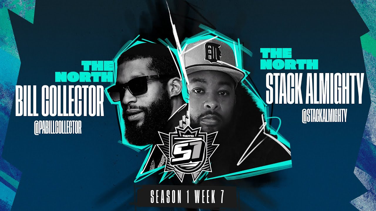 KOTD - Rap Battle - Bill Collector vs Stack Almighty | S1W7