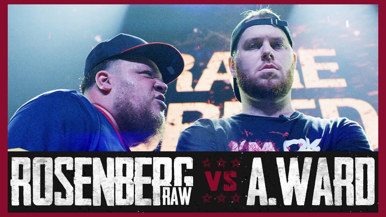 ROSENBERG RAW VS A WARD RAP BATTLE - RBE