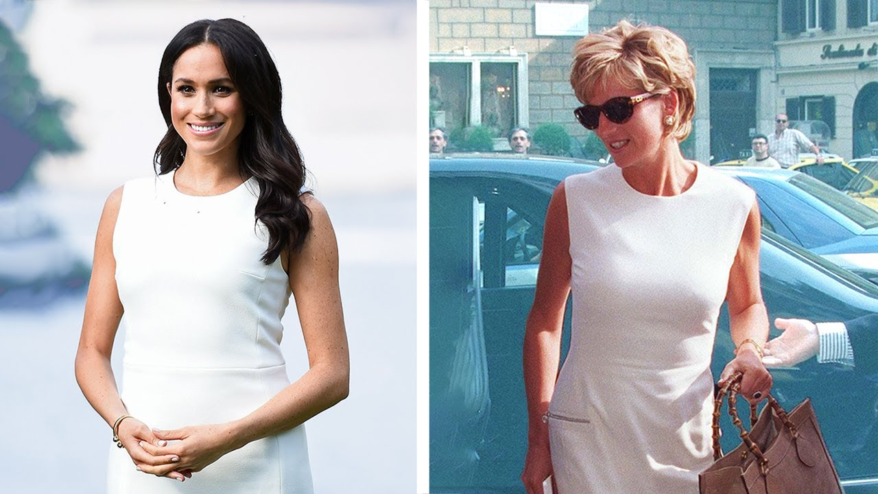 Meghan Markle Channeling Her Inner Princess Diana #shorts