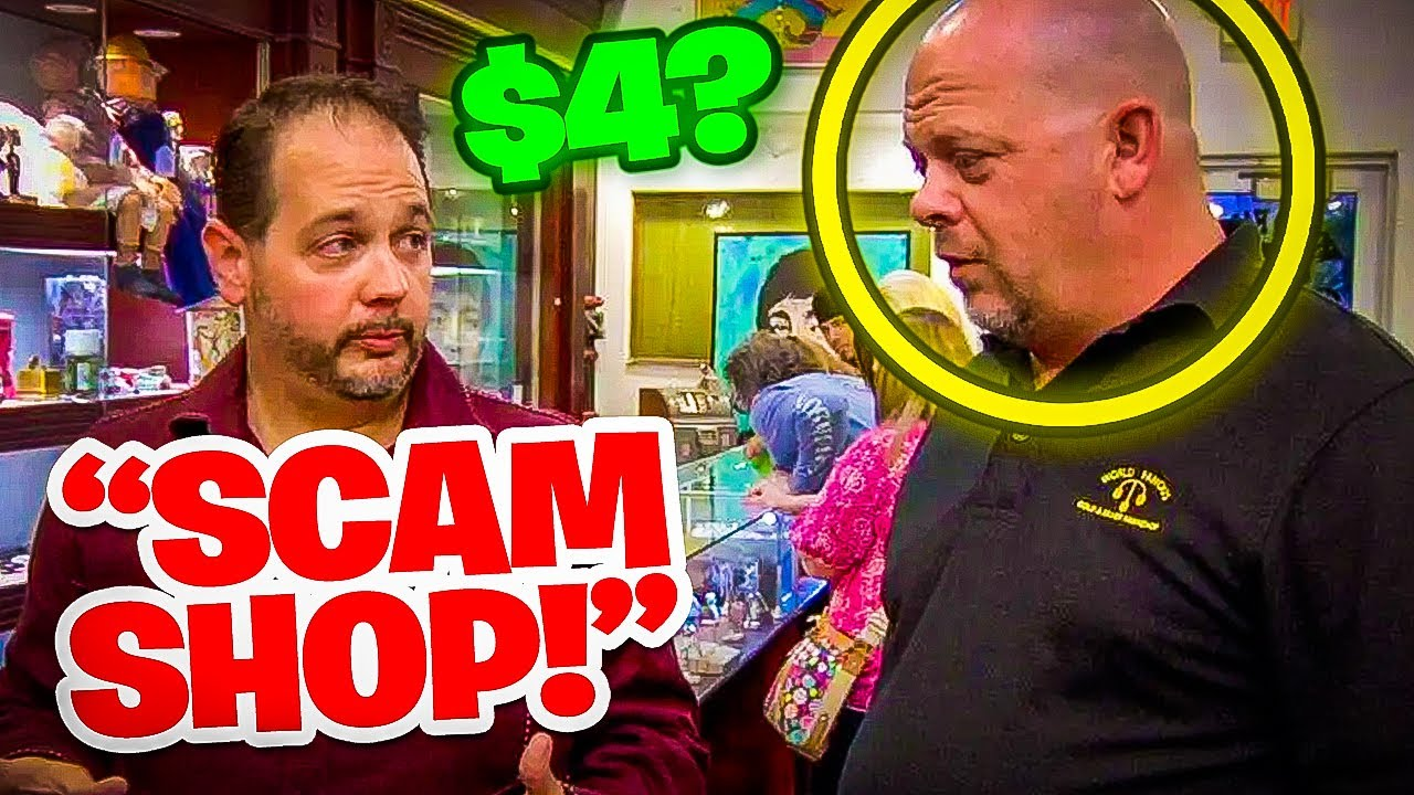 Top 10 Angry Customers on Pawn Stars