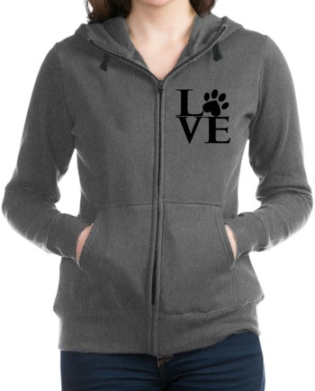 Animal LOVE Women's Zip Hoodie