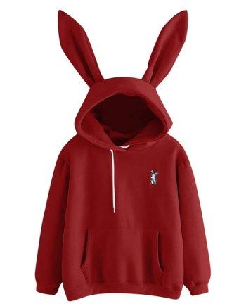 Cute Bunny Hoodie
