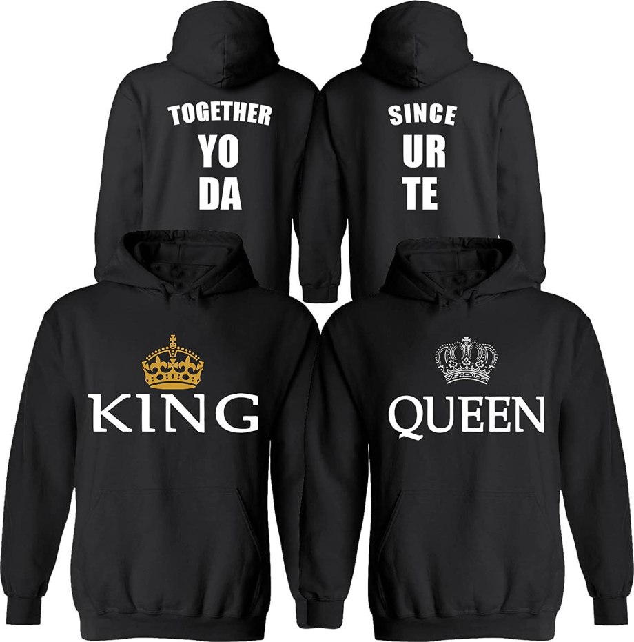 King & Queen [Personalized] Together Since [Your Date]