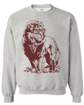 Lion Professor Classic Sweatshirt