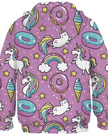 Unicorn Hoodie for Girls