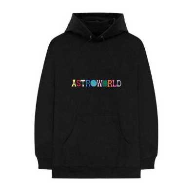 Travis Scott Astroworld Embroidered Hoodie