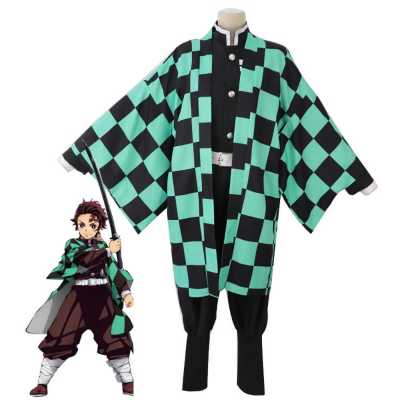 Demon Slayer Kimetsu no Yaiba Kamado Tanjirou Cosplay
